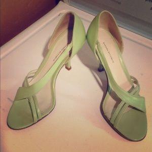 Elegant Open Toe Heels
